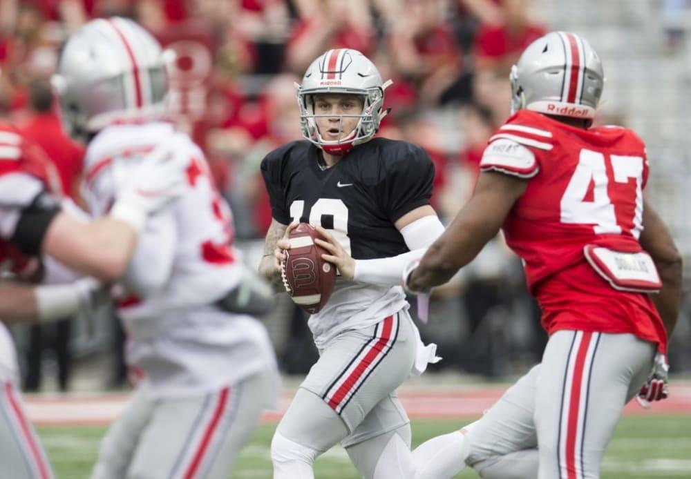 Tate Martell-Ohio State Buckeyes-Ohio State football-Ohio State-Ohio State quarterbacks-Ohio State depth chart
