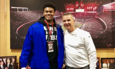 Ohio State recruiting-Ohio State football-Paris Johnson-Urban Meyer-Ohio State-Buckeyes