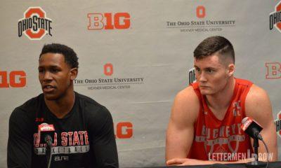 C.J. Jackson-Kyle Young-Ohio State basketball-Ohio State-Ohio State Buckeyes