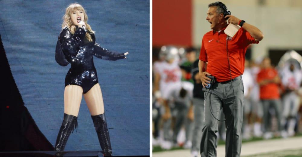 Taylor Swift-Taylor Swift tour-Taylor Swift Columbus-Urban Meyer-Ohio State Buckeyes-Ohio Stadium-Horseshoe