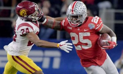 Mike Weber-Ohio State-Ohio State Buckeyes-Ohio State football-Ohio State running backs-Cotton Bowl Classic-Cotton Bowl-USC Trojans