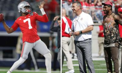 Dwayne Haskins-Urban Meyer-Braxton Miller-Ohio State quarterbacks-Ohio State football-Ohio State Buckeyes-Heisman Trophy
