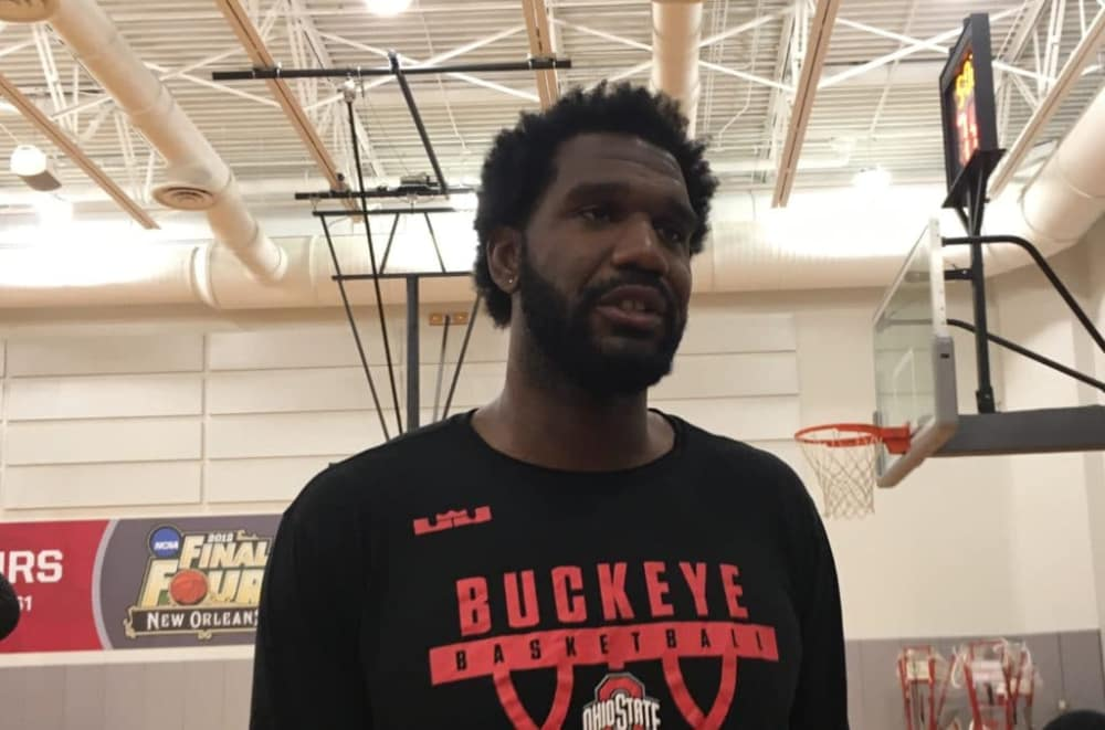 Greg Oden-Ohio State basketball-The Basketball Tournament-Scarlet and Gray