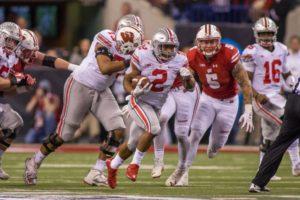J.K. Dobbins-Ohio State Buckeyes-Ohio State-College Football Playoff-Big Ten championship