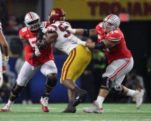 Ohio State-Isaiah Prince-Demetrius Knox-Ohio State Buckeyes-Cotton Bowl-Cotton Bowl Classic-Ohio State offensive line