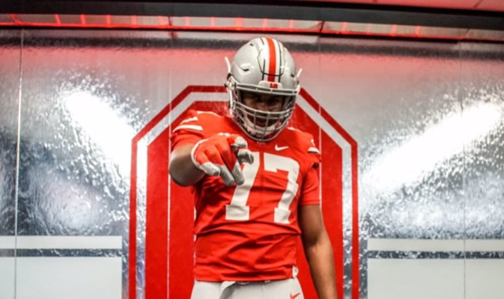 Paris Johnson-Paris Johnson Jr.-Ohio State Buckeyes-Ohio State recruiting-Paris Johnson commitment-Ohio State football