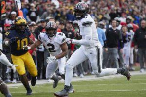 Haskins-Dwayne Haskins-Ohio State-Ohio State Buckeyes-Ohio State quarterback-Ohio State football
