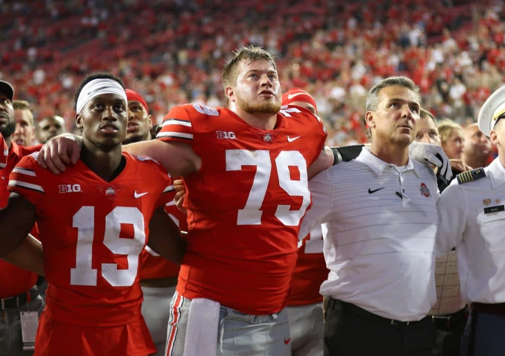 Ohio State-Brady Taylor-Ohio State football-Ohio State Buckeyes-Ohio State center-position battle-Rimington Trophy