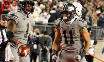 Ohio State-Johnnie Dixon-Austin Mack-Ohio State wide receivers-Ohio State football-Ohio State Buckeyes-Zone 6-depth chart