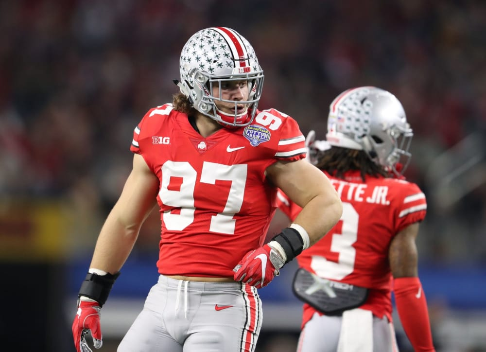 Maxwell Award-Nick Bosa-Ohio State-Ohio State Buckeyes-Ohio State football