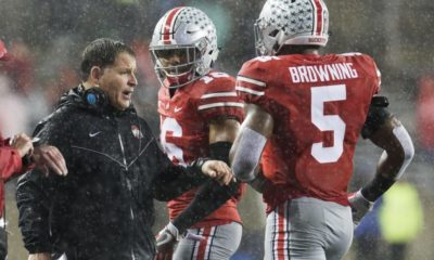 Ohio State-Baron Browning-Greg Schiano-Ohio State football-Ohio State Buckeyes-Ohio State depth chart-middle linebacker
