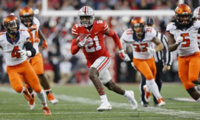 Parris Campbell-Ohio State-Ohio State Buckeyes-Ohio State football-wide receiver-Zone 6