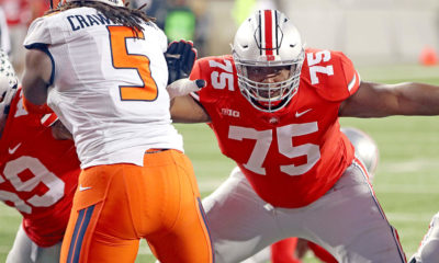 Ohio State-Thayer Munford-left tackle-Ohio State football-Ohio State Buckeyes-offensive line-depth chart