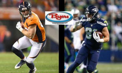 Jeff Heuerman-Nick Vannett-Ohio State Buckeyes-Seattle Seahawks-Denver Broncos-Fantasy Football