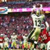 Michael Thomas-Ohio State Buckeyes-New Orleans Saints-Fantasy Football