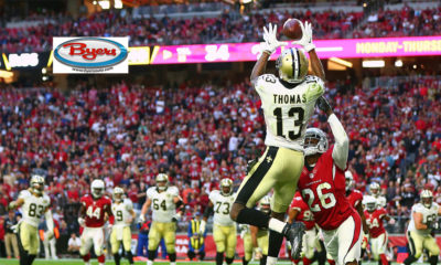 Michael Thomas-Ohio State Buckeyes-New Orleans Saints-Fantasy Football