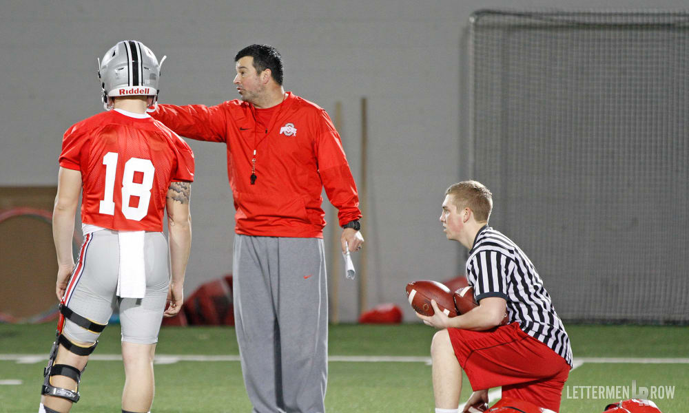 ryan day-ohio state-buckeyes-urban meyer-suspended