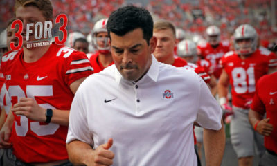 ryan day-ohio state-ohio state buckeyes-training camp-Ryan Day coaching