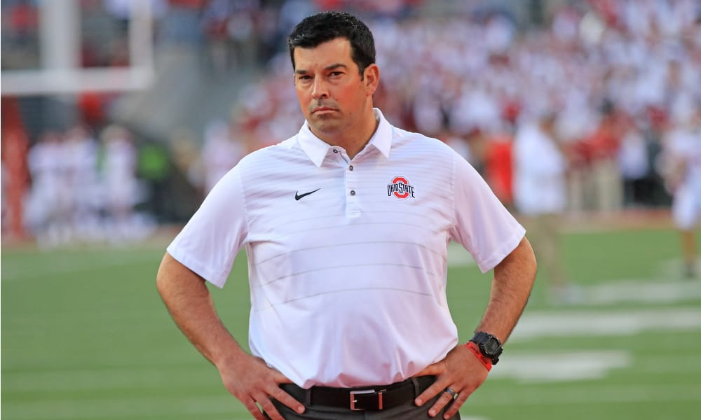 ryan day-ohio state-Ohio State football-Ryan Day acting head coach-training camp