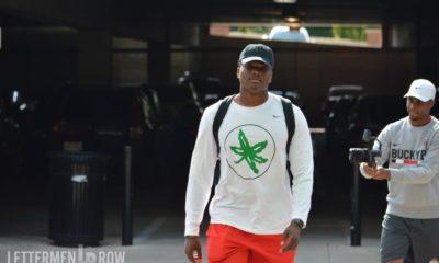 Dwayne Haskins training camp arrival-Dwayne Haskins-Ohio State quarterback-Ohio State Buckeyes