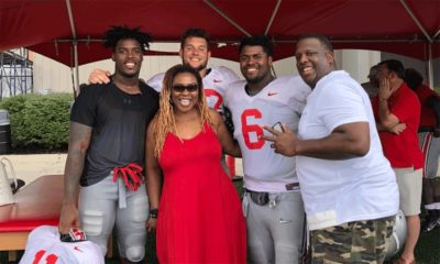 Tyreke Smith-Tyreke Smith family-Tyreke Smith black stripe removed-Ohio State football-Ohio State Buckeyes