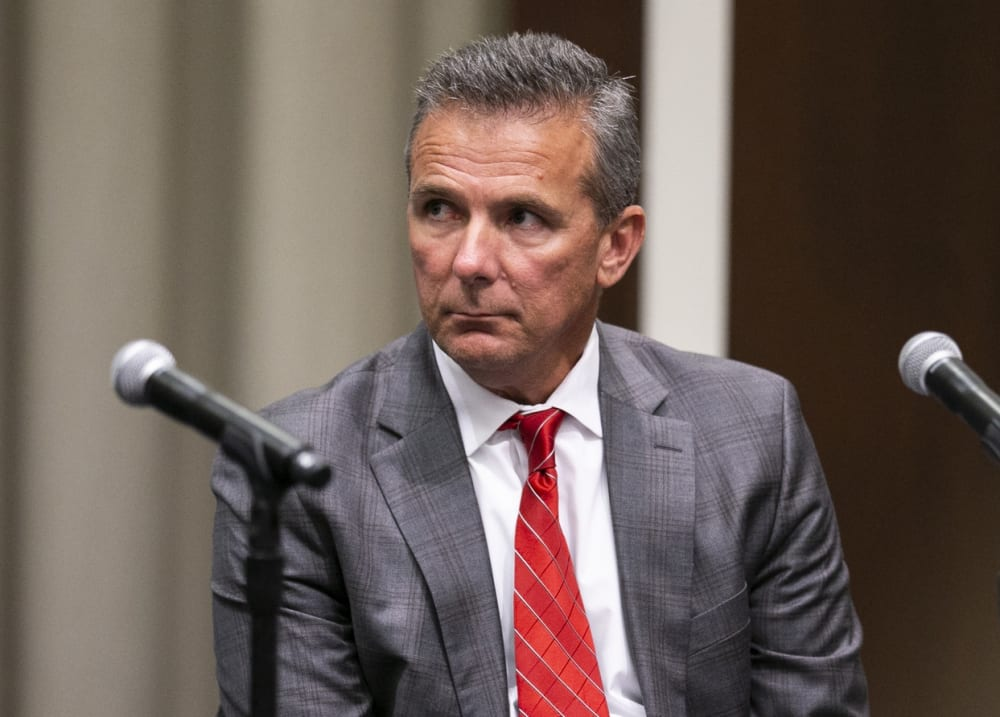 Urban Meyer press conference-Ohio State investigation-Urban Meyer suspended-Urban Meyer