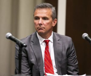 Urban Meyer press conference-Urban Meyer suspended-Ohio State Buckeyes-Ohio State investigation