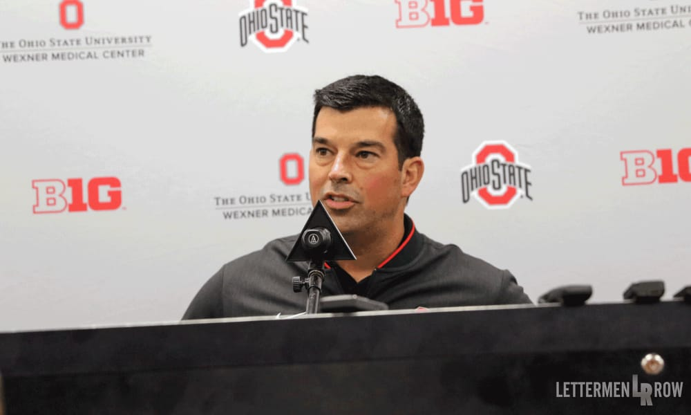 Ryan Day press conference-Ryan Day-Ohio State Buckeyes-Ohio State football
