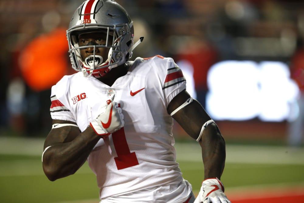 Johnnie Dixon-Ohio State-Johnnie Dixon celebration-Johnnie Dixon touchdown