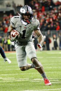 Johnnie Dixon running-Ohio State wide receiver Johnnie Dixon-Ohio State Buckeyes-Johnnie Dixon
