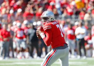 Dwayne Haskins-Ohio State-Ohio State quarterback Dwayne Haskins-Ohio State football