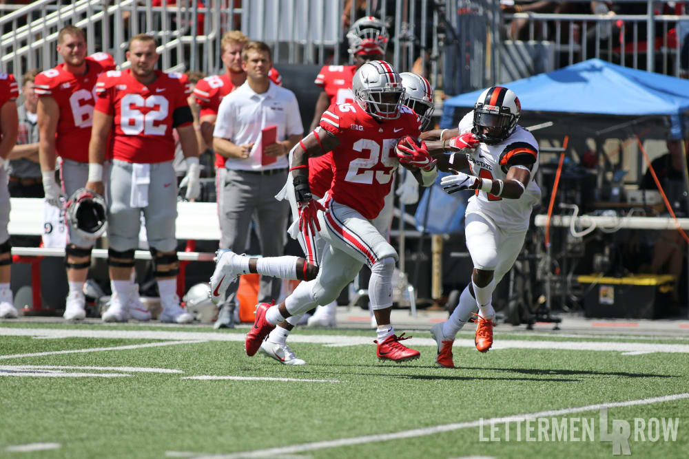 Mike Weber-Ohio State-Ohio State running back-Mike Weber Ohio State-Ohio State Buckeyes