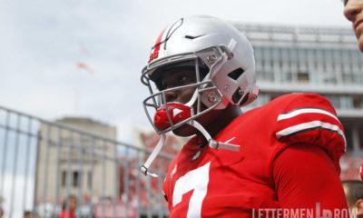Dwayne Haskins-Dwayne Haskins Heisman-Ohio State quarterback-Ohio State Buckeyes-Heisman Trophy