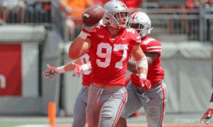 Nick Bosa-Ohio State-Nick Bosa recovers fumble-Nick Bosa touchdown