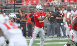 Tate Martell quarterback-Tate Martell-Ohio State Buckeyes-Ohio State football