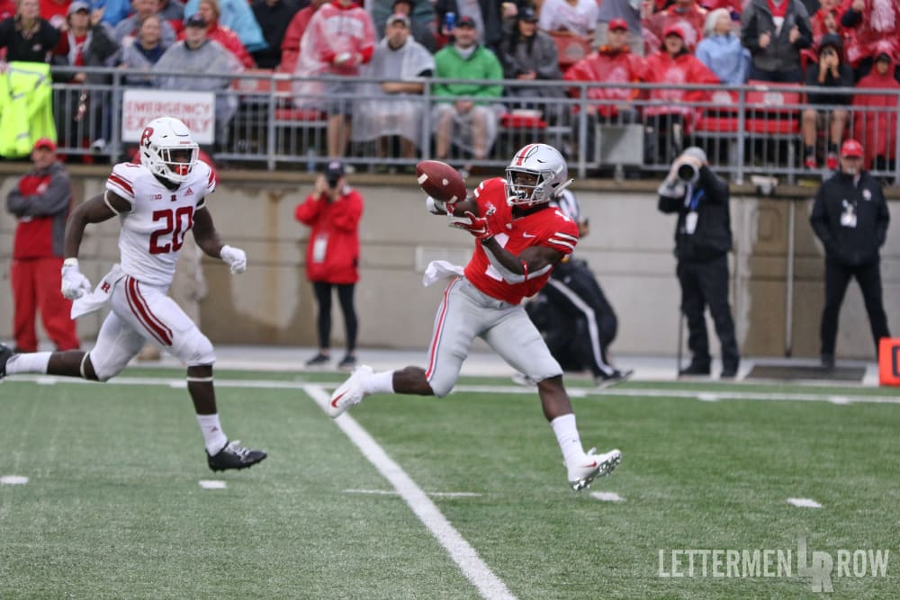 Johnnie Dixon-Ohio State-Ohio State Buckeyes-Johnnie Dixon catch