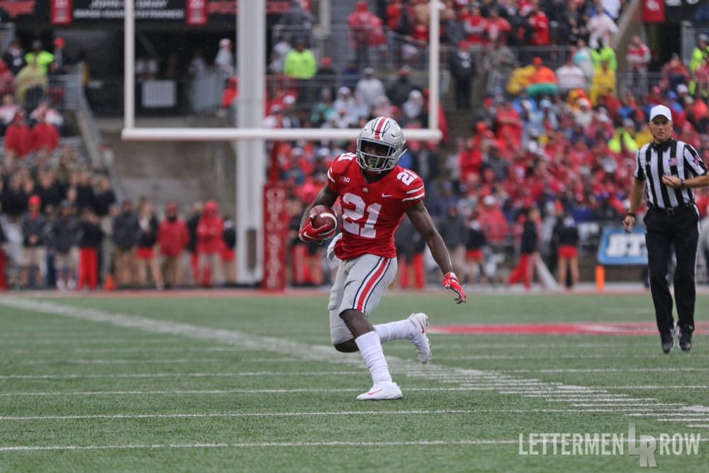 Parris Campbell-Ohio State Buckeyes-Ohio State-Ohio State wide receiver
