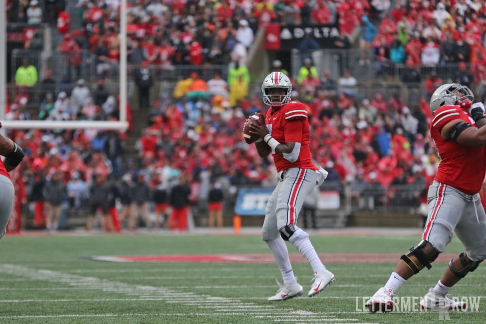 Dwayne Haskins-Ohio State quarterback-Ohio State-Dwayne Haskins Ohio State-Heisman Trophy candidate