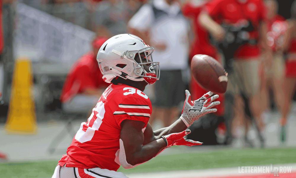 Demario McCall-Ohio State Buckeyes-Ohio State football-Ohio State punt return-Ohio State TCU preview