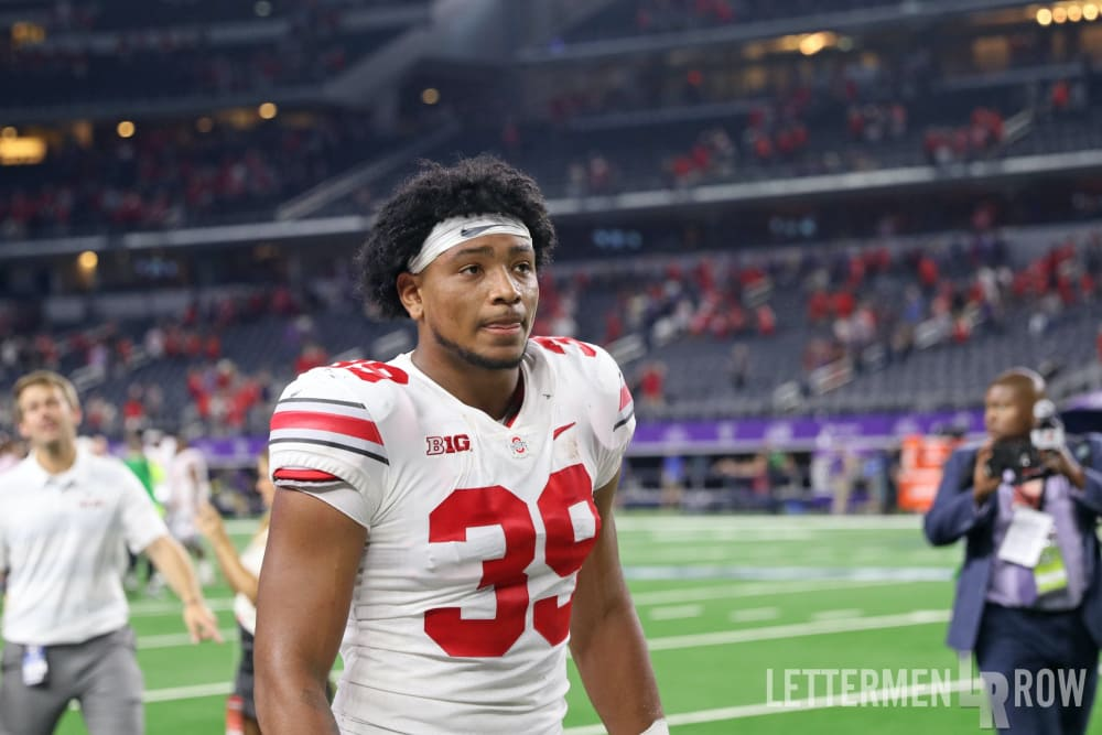 Malik Harrison-Ohio State-Ohio State defense-Ohio State football-Ohio State Buckeyes