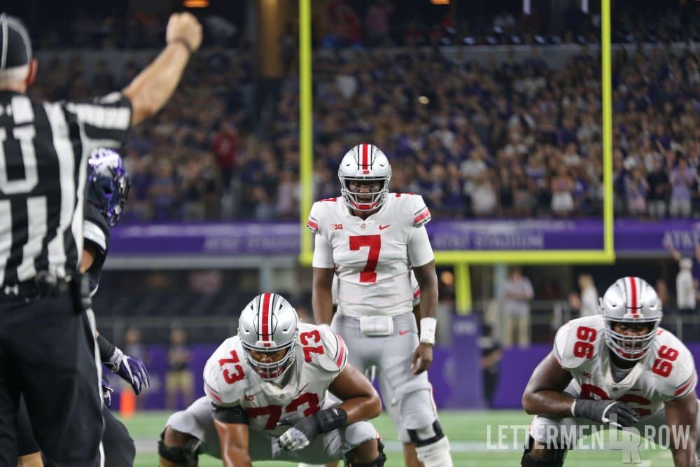 Ohio State-Dwayne Haskins-Ohio State Buckeyes-quarterback sneaks-Buckeyes