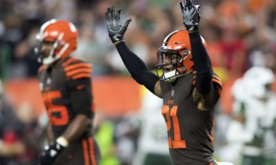 Denzel Ward-Cleveland Browns-Ohio State football-Ohio State Buckeyes-Ohio State