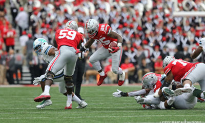 Mike Weber-Ohio State-Ohio State Buckeyes-Ohio State football