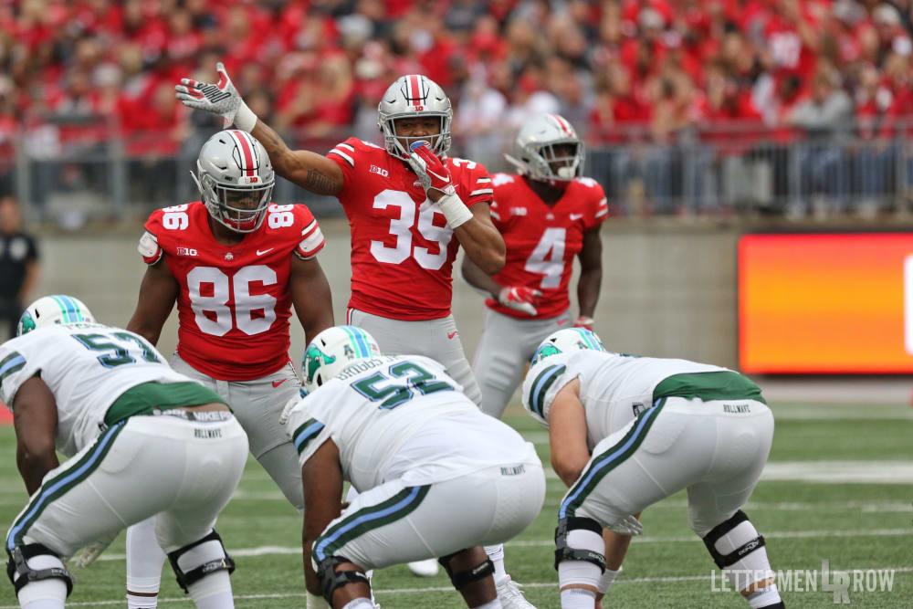 Dre'Mont Jones-Malik Harrison-Jordan Fuller-Ohio State-Buckeyes-Ohio State football