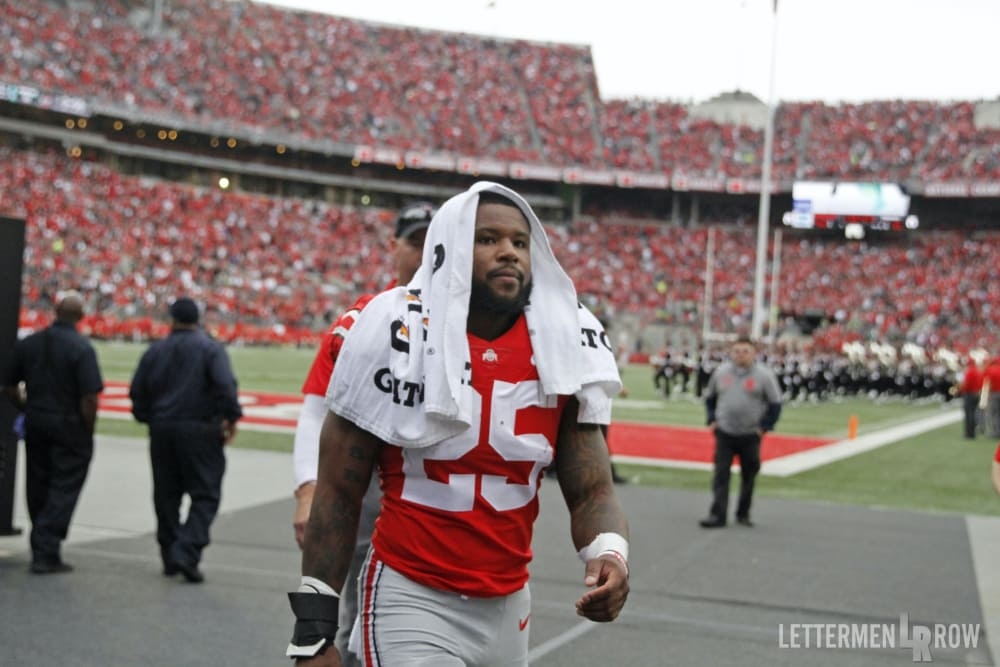 Ohio State-Mike Weber-Ohio State Buckeyes-Ohio State football