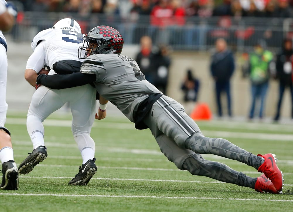 Jordan Fuller-Trace McSorley-Ohio State-Ohio State Buckeyes-Ohio State football