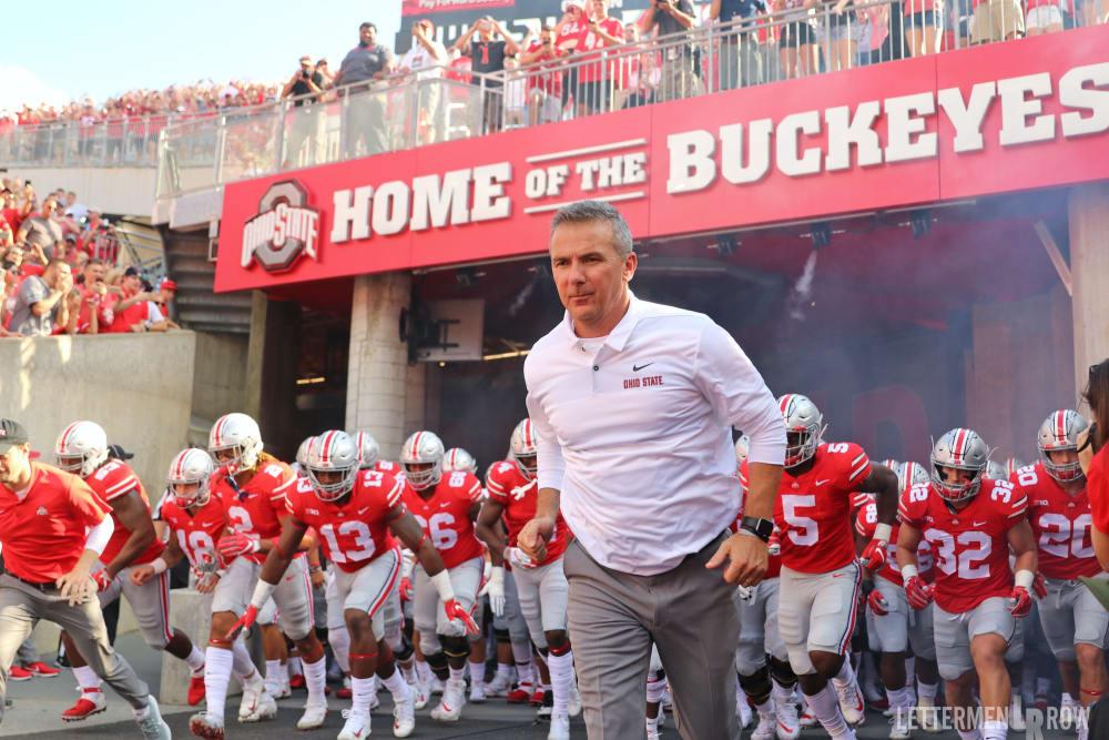 Urban Meyer-Ohio State-Buckeyes-Ohio State Buckeyes-Ohio State football
