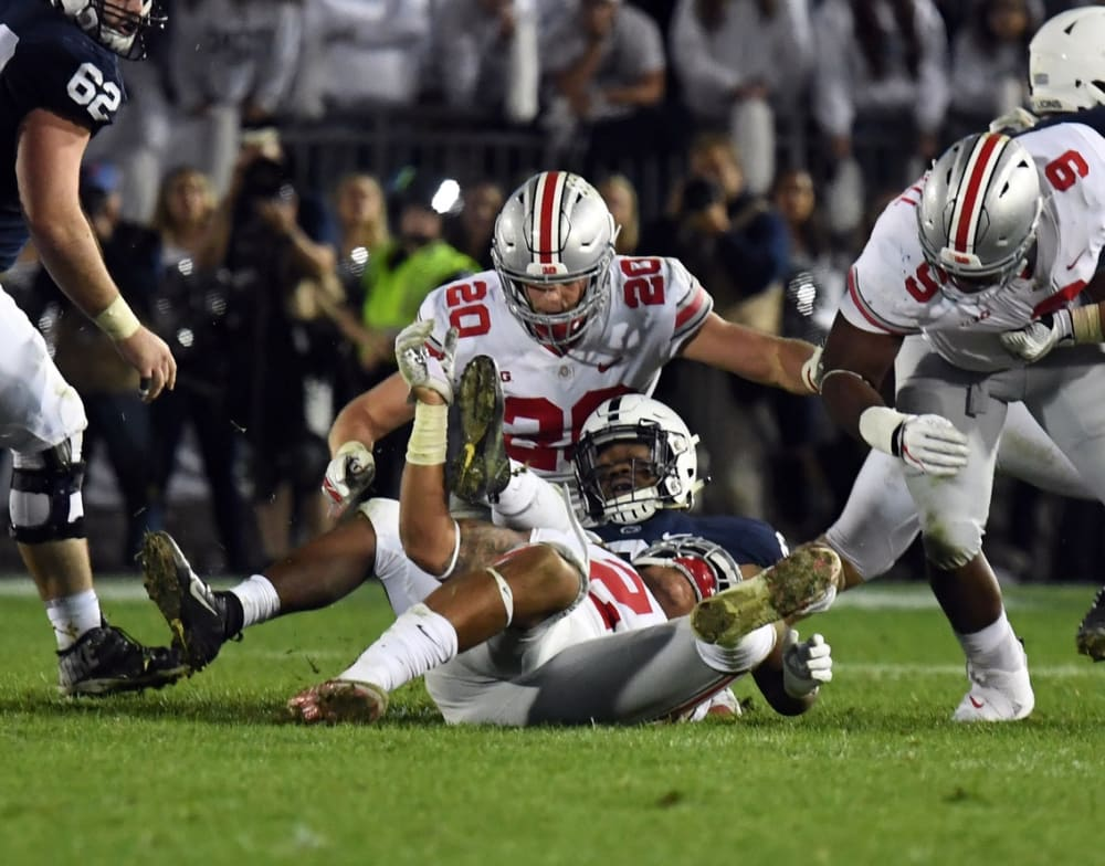 Pete Werner-Ohio State-linebackers-Ohio State Buckeyes-Buckeyes-Ohio State football