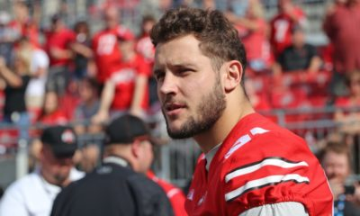 Nick Bosa-Ohio State-Ohio State Buckeyes-Buckeyes-Ohio State football-Nick Bosa injury