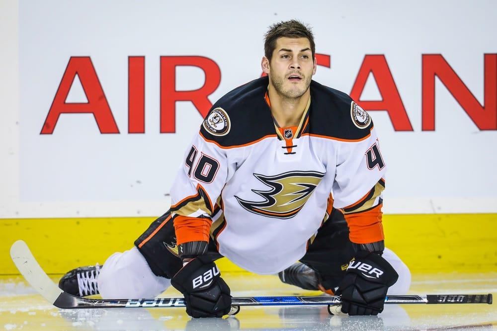 Jared Boll-Nick Bosa injury-Anaheim Ducks